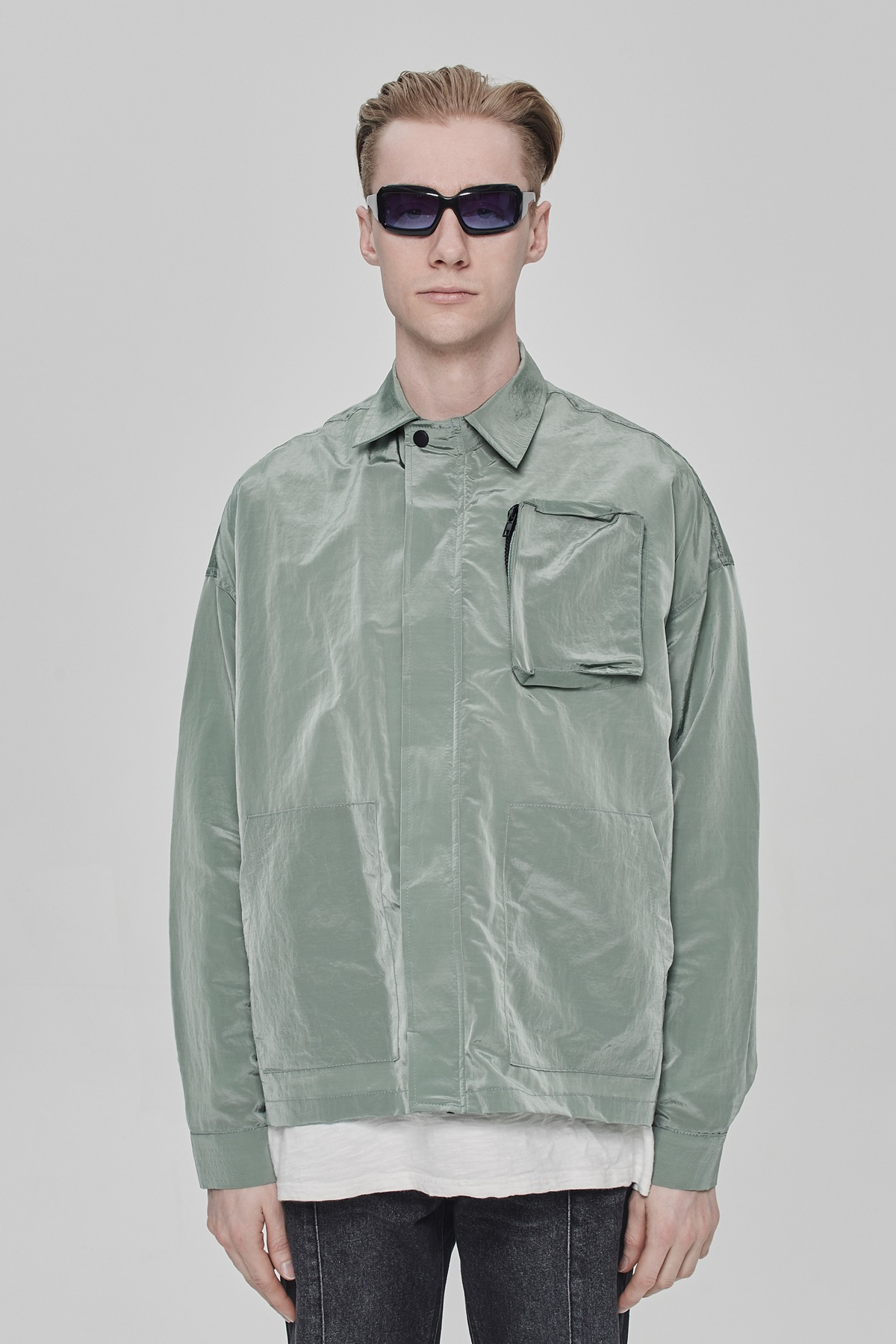 MINT METAL POCKET JACKET V2